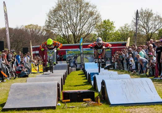Pumptrack event – Framed Festival